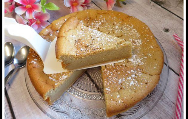 Gâteau magique au spéculoos