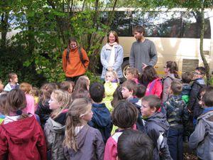 Premier jour à La Chapelle-Neuve pour les cp-ce1bilingues