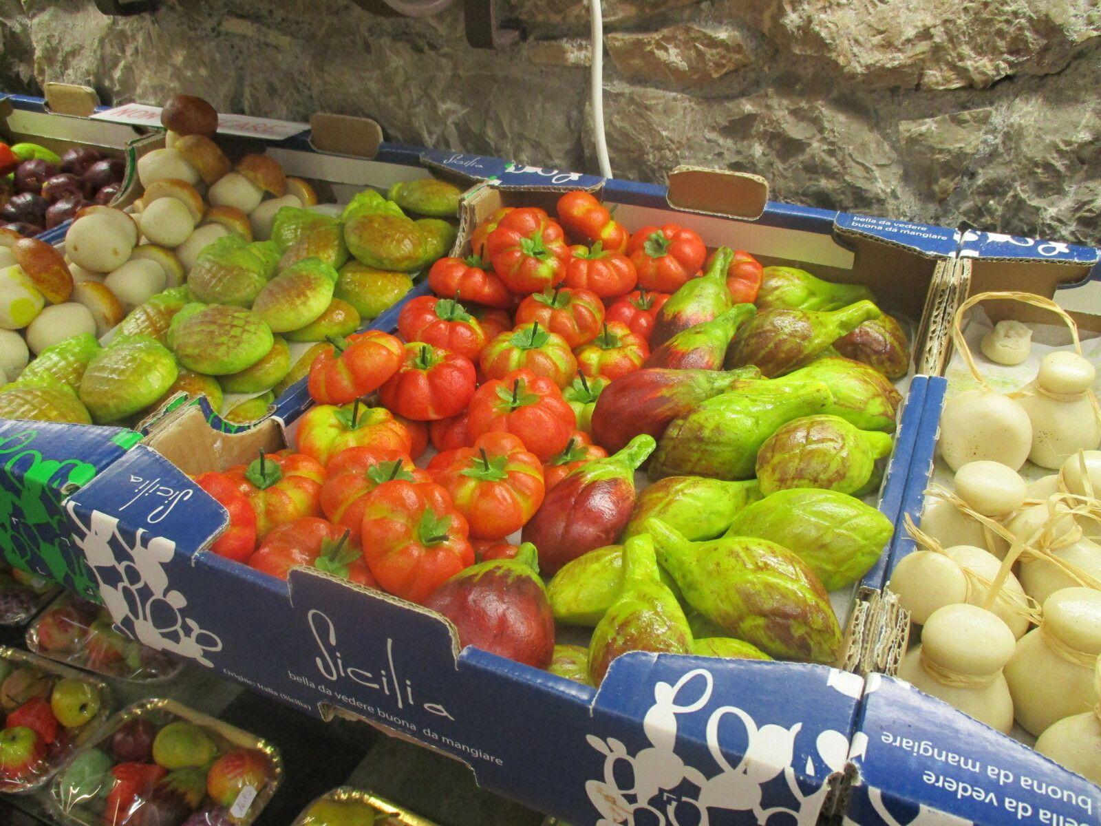 Sicile - Les délicieux Frutta di Martorana