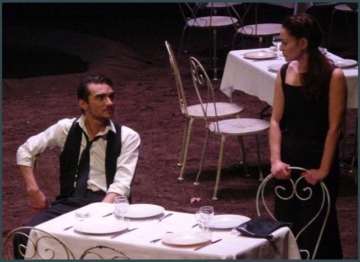 Joseph Fourez (Mikhail Platonov) et Sophie Dumont (Sophia Iegorovna)