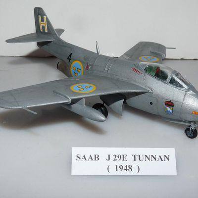 SAAB  J29E  TUNNAN