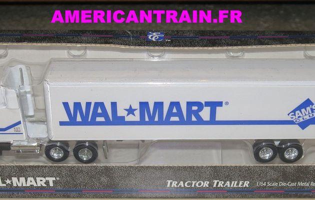 Semi-remorque Américain Kenworth « WalMart » 1/64 ERTL