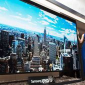 Samsung to Launch 110-Inch Ultra HD TV Monday