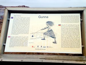 "Gunnnuhver - Explanatory panel of the legend of ""Gunna"" - a click to enlarge"