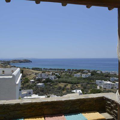 TINOS : MARJORIE ET FRANCOIS EN GRECE 2013