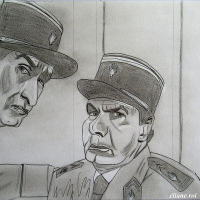 Mon dessin du Gendarme