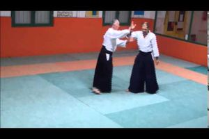 Video d'aikido Katate Ryote Dori