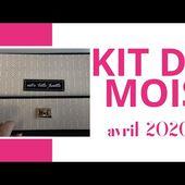 2020 05 Kit du mois par Lydie