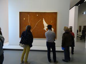 Le Cheval de cirque - 1927 - Washington - Miro exécute deux séries de peintures autour du thème des Fratellini -