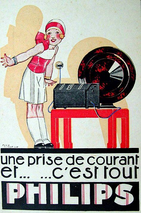 PUBLICITES : LES GRANDS NOMS DE L'AFFICHE... René VINCENT