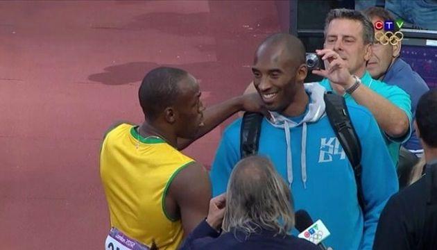 Jeux Olympiques: Une rencontre de deux grands champions