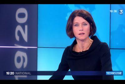 [2012 10 23] CAROLE GAESSLER - FRANCE 3 - LE 19 20 @19H30