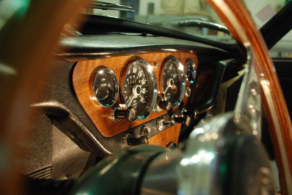 De l'ébénisterie automobile sur une Triumph Spitfire Mk3