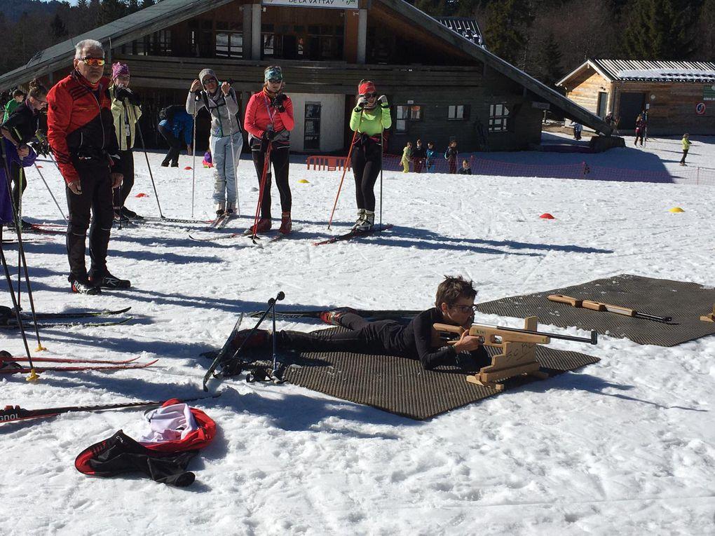 Entraînement ski SCBC samedi 22/02