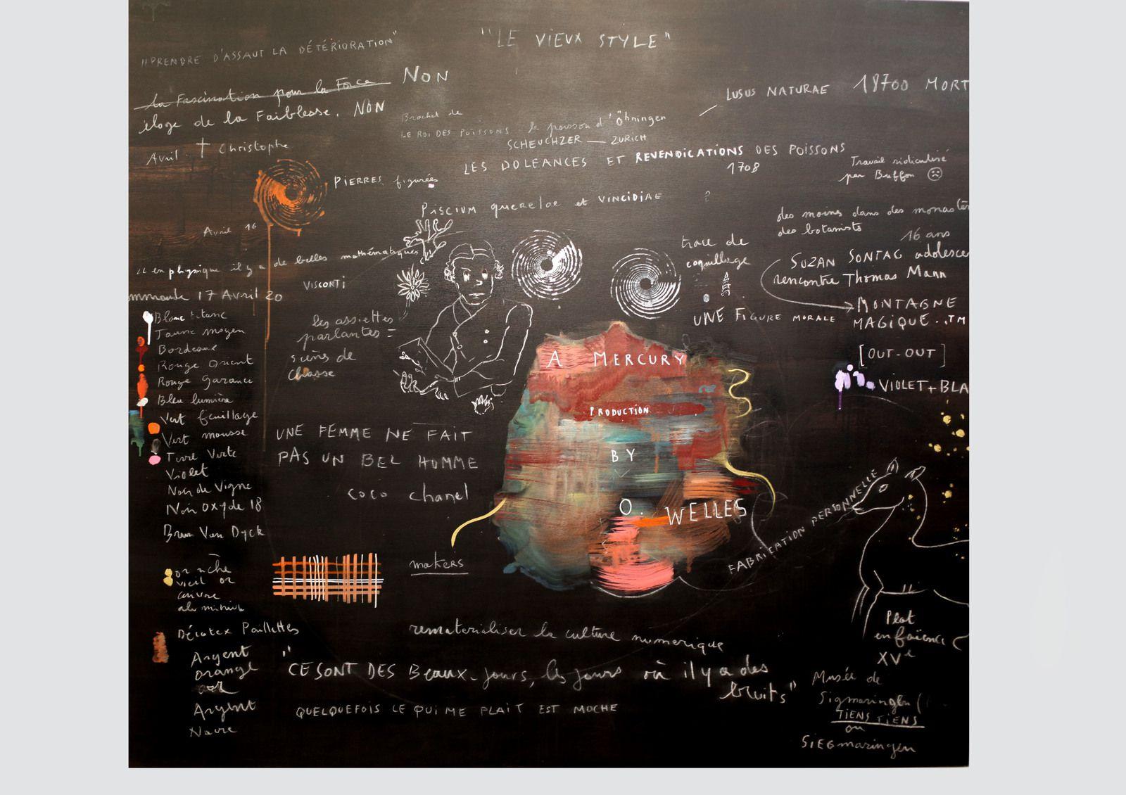 """""""Le vieux style"""", 2020 de Hélène DELPRAT - Courtesy de l'artiste et de la Galerie Christophe Gaillard © Photo Éric Simon"""