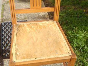 Rénovation chaises