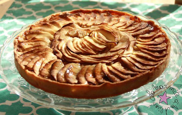 ☆ Tarte aux Pommes au Beurre ☆