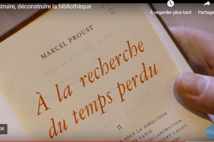 PROUST À L'ÉCOLE: au collège de France, littérature comparée, au collège Lamartine, lecture en écho
