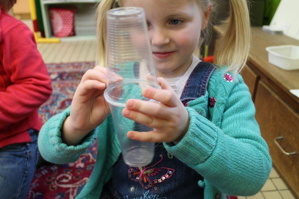 Semaines de l'eau et de l'air en MS et GS