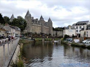 Josselin, Bretagne en camping-car