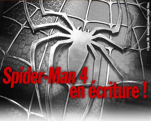 Spider-Man 4 en écriture !