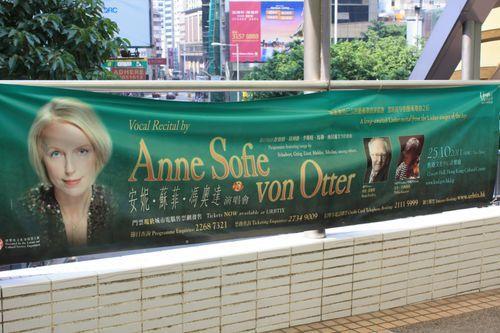 Anne Sophie von Otter en concert.