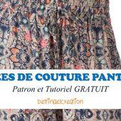 FREE: les 14 meilleures idées couture pantalon femme