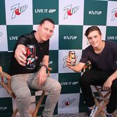 Tiësto & Martin Garrix - New Collaboration for 7up - World of Tiesto #Tiestolive