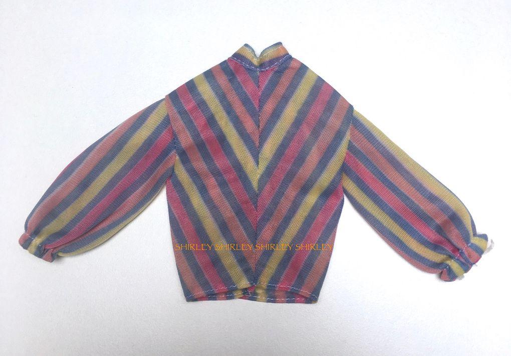 """FASHION COLLECTIBLES"" KEN DOLL CLOTHES 1980 MATTEL #1380"