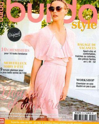 Les magazines de juin 2017: Burda, etc