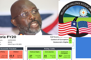 Liberia and Corruption: Fails half of Millennium Challenge scorecard since 2009