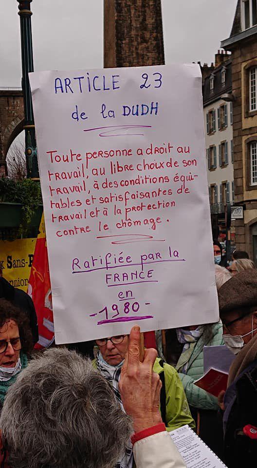 Photo Christophe Boudrot - 19 janvier 2021 - Morlaix