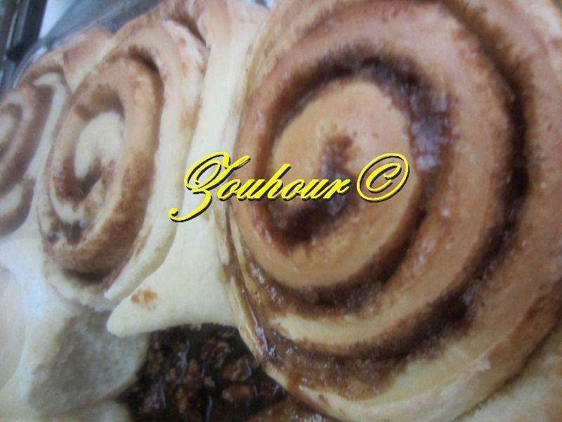 Cinnamones Rolls (Escargots à la cannelle)