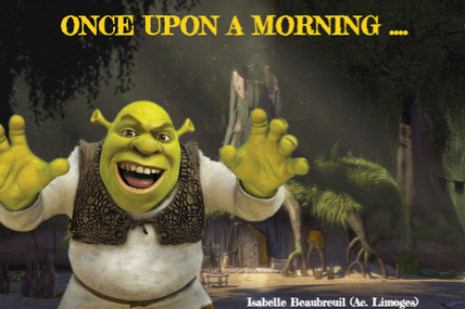 SHREK's  and the GRINCH'S ROUTINES: