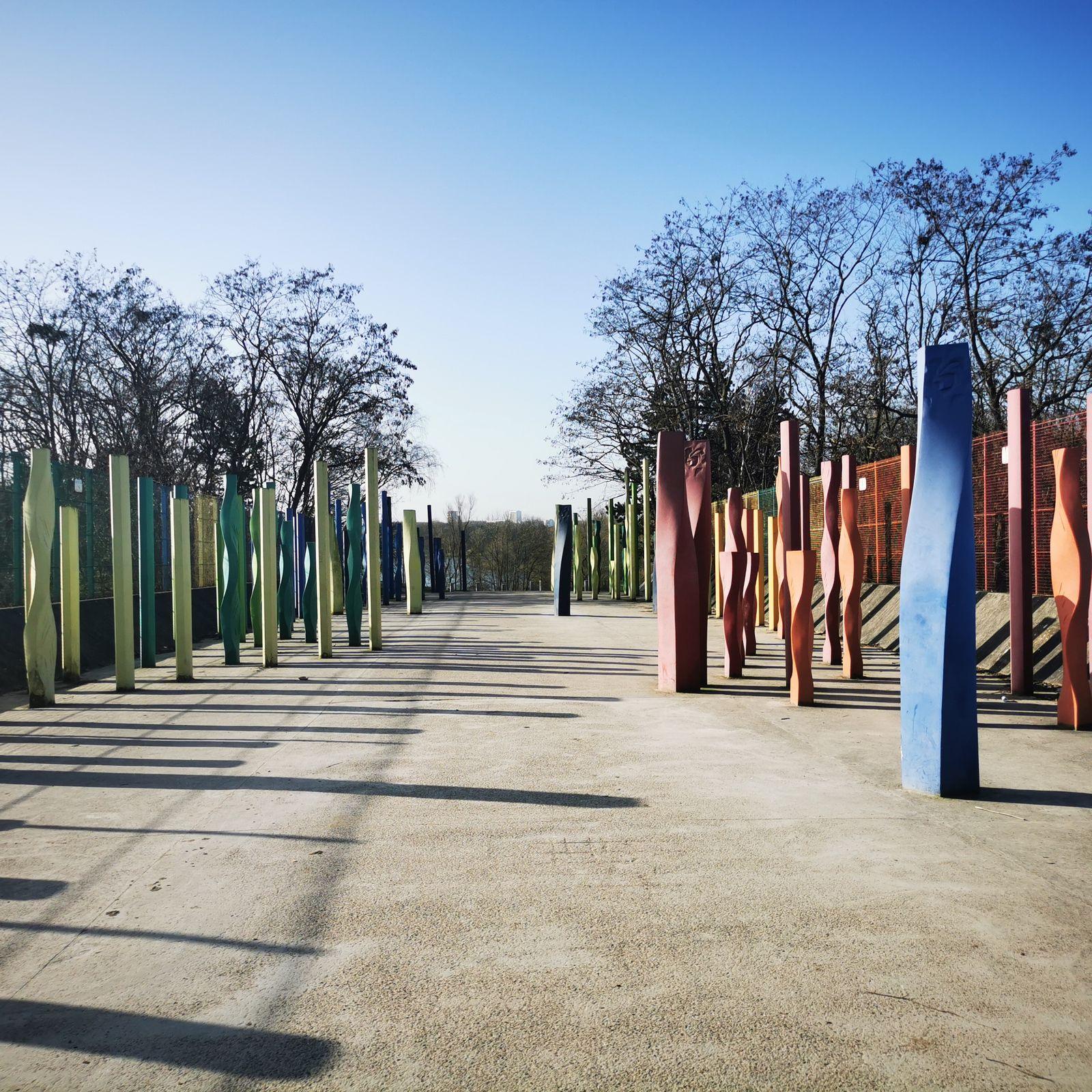 Parc Georges-valbon en Seine-Saint-denis