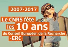 Le CNRS fête les 10 ans du Conseil européen de la recherche  - 6 mini-conférences - 10 minutes