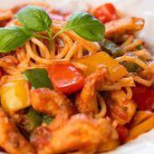 Marmite espagnole avec spaghetti au cookeo - recette cookeo.