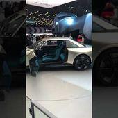 Mondial Auto : Peugeot eLegend Concept