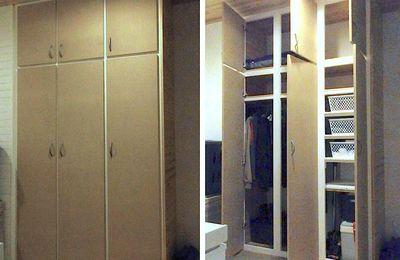 Une armoire dans le cellier