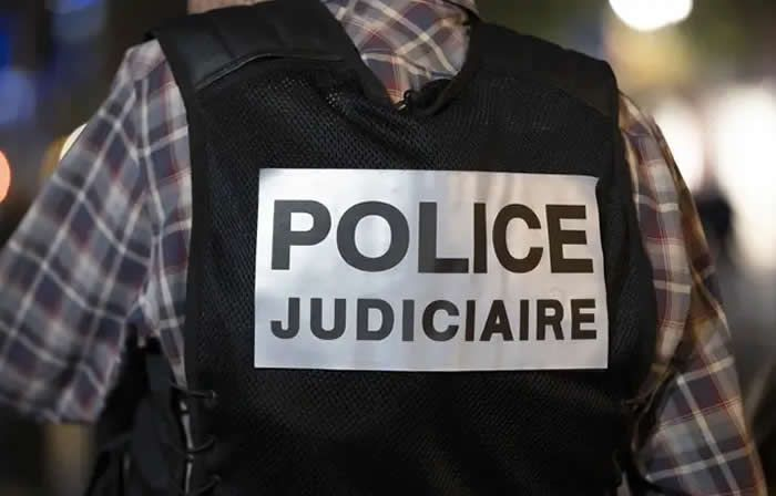 Un officiel de police judiciaire. (illustration) — SYSPEO/SIPA