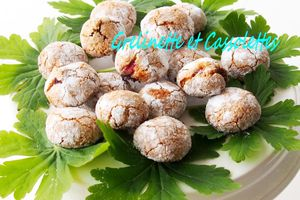 Amaretti aux Cranberries