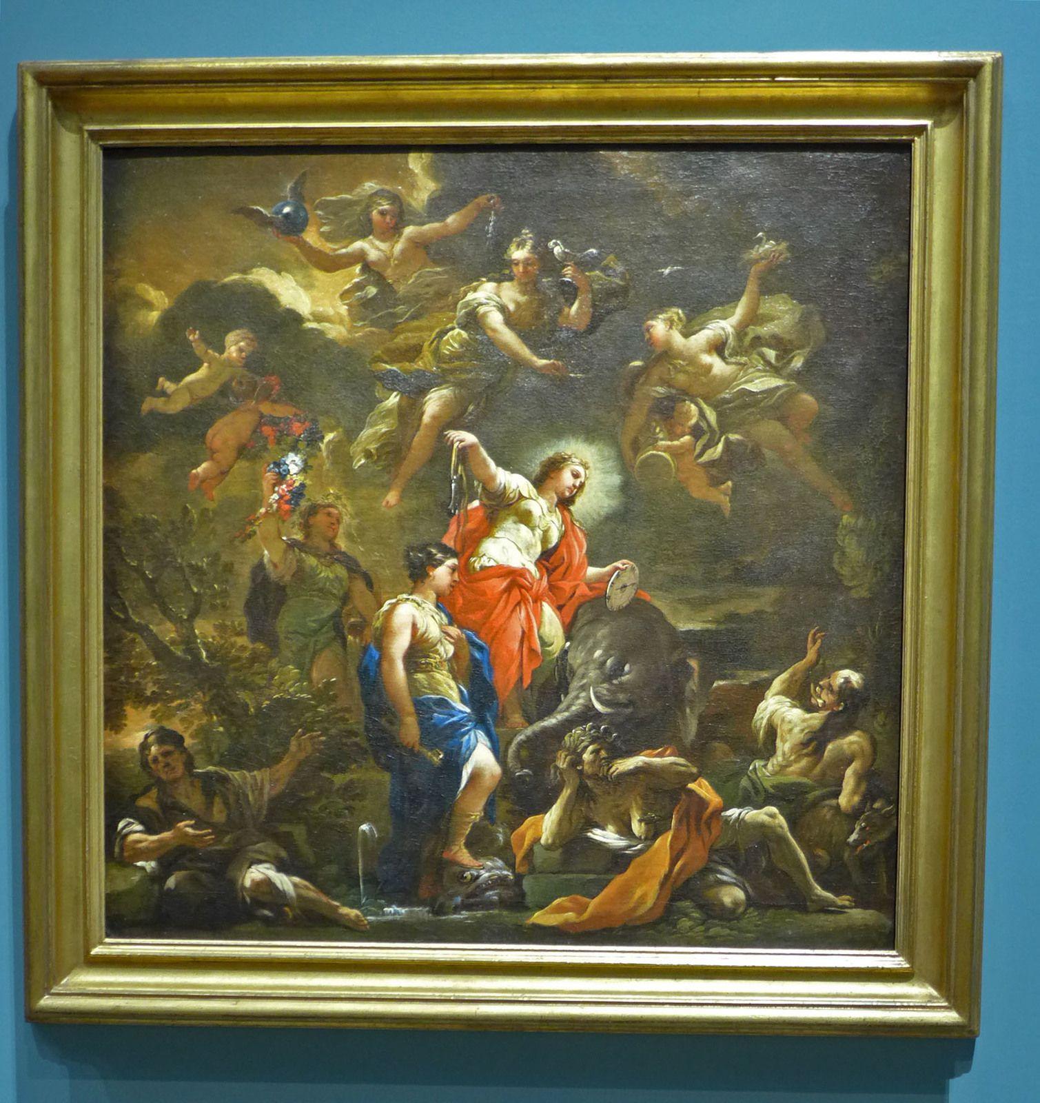 Allégorie de la tempérance (vers 1685), huile sur toile. Paris, collection privée.
