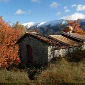 TANARON - AUTOMNE en val de BES -Alpes de Hte Provence