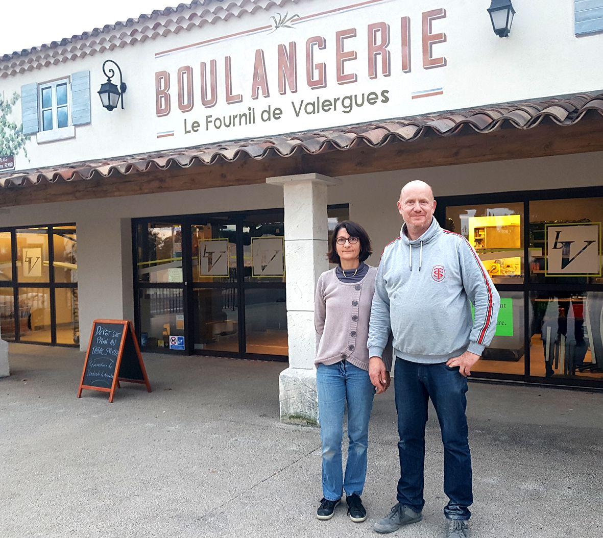 Nathalie et Loïc Vinet avec leur équipe vous accueillent dès ce vendredi au Fournil de Valergues place Auguste Renoir