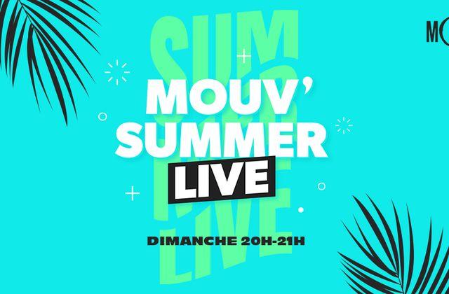 Mouv' Summer Live, une programmation compilant chaque dimanche des titres enregistrés en live sur Mouv'.