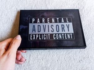 Parental Advisory Explicit Content Palette