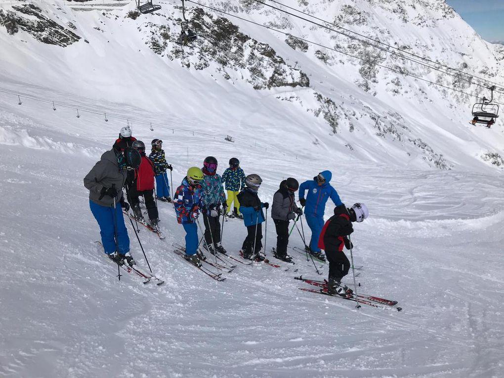 Les dernières photos du séjour au ski