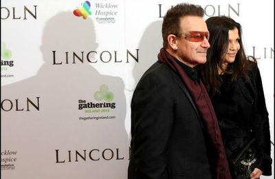 Bono et The Edge - European premiere of the film 'Lincoln' -20/01/2013