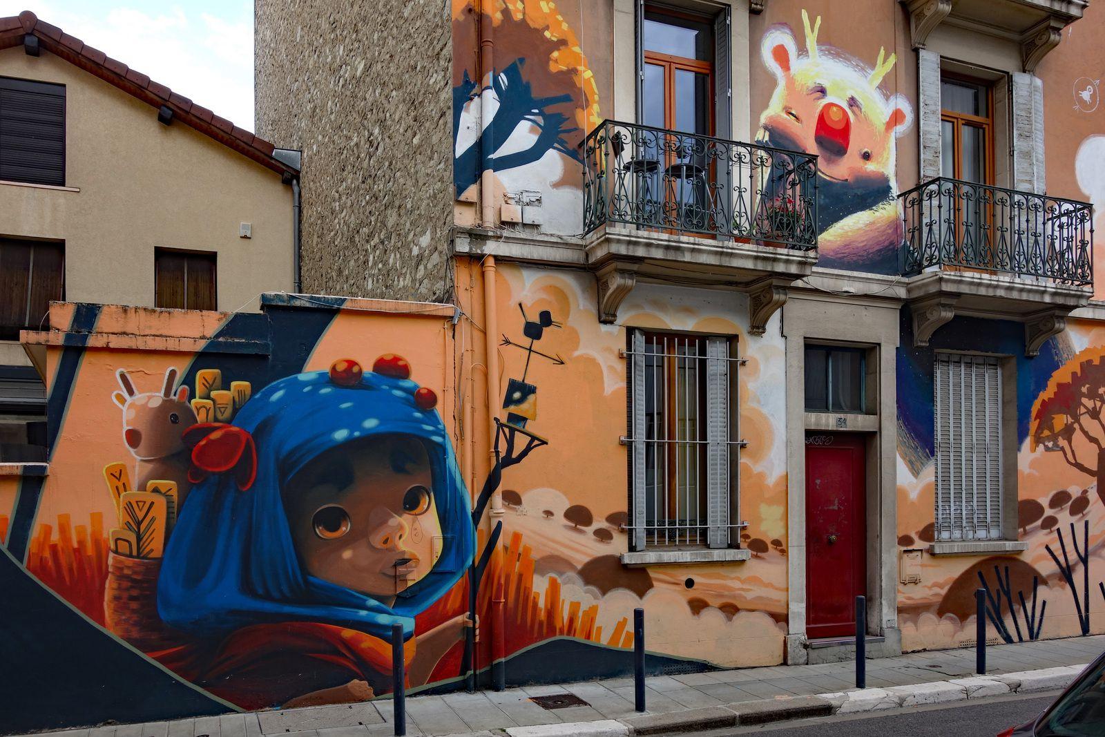 Street art à Grenoble