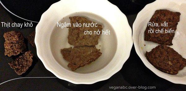 Thịt chay khô - Dry Vegetable Meat
